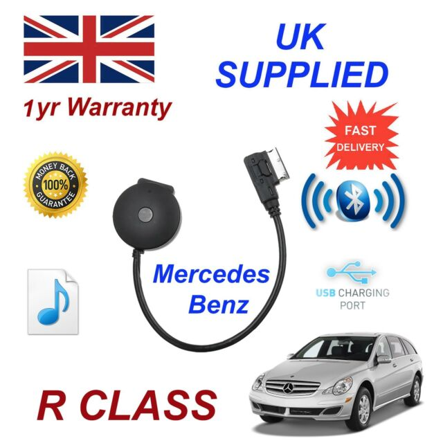 For Mercedes GLK Class Bluetooth Streaming USB Charge/& stick Cable MB-MMI-BT001