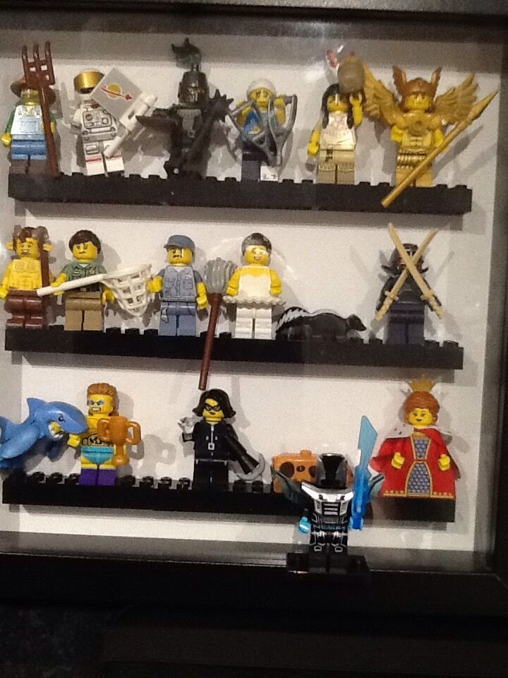 Lego Series 15 Minifigures 71011 Full Set Of 16 In Case
