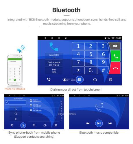 "Android 8.1 for HONDA CRV 2007-2011 GPS Navigation 9/"" Car Stereo Radio WIFI 4G"