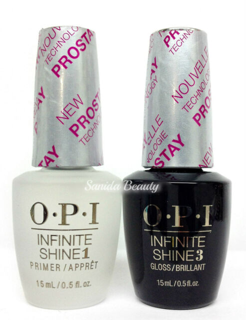 OPI Infinite Shine Nail Lacquer Prostay - Prime Base Gloss Top Coat ...