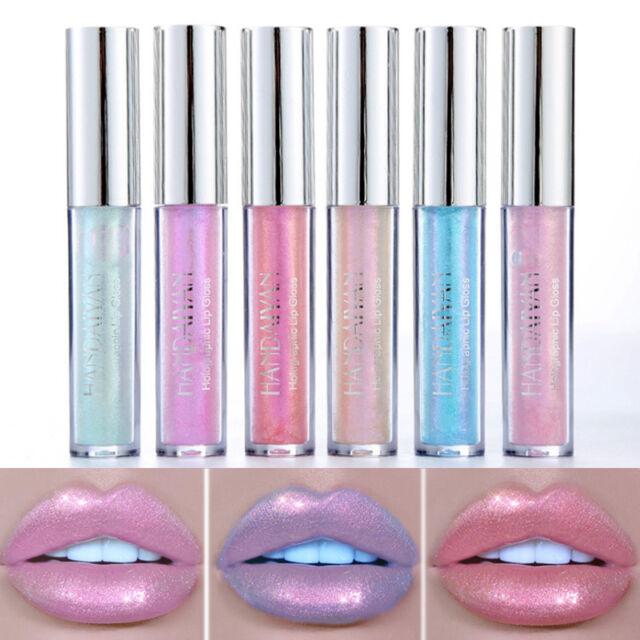 Women Fashion Glitter Liquid Lipstick Candy Shiny Lip Gloss Long Lasting Makeup
