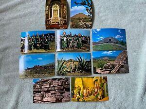 Vintage Lot  of Mexico Souvenir Postcards