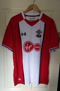 Southampton Home Football Shirt - 17/18 Season - Under Armour - Size XL