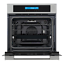 thumbnail 11 - Cosmo Single Electric Wall Oven 24 in. 2.5 cu. ft. Safety Lock Stainless Steel