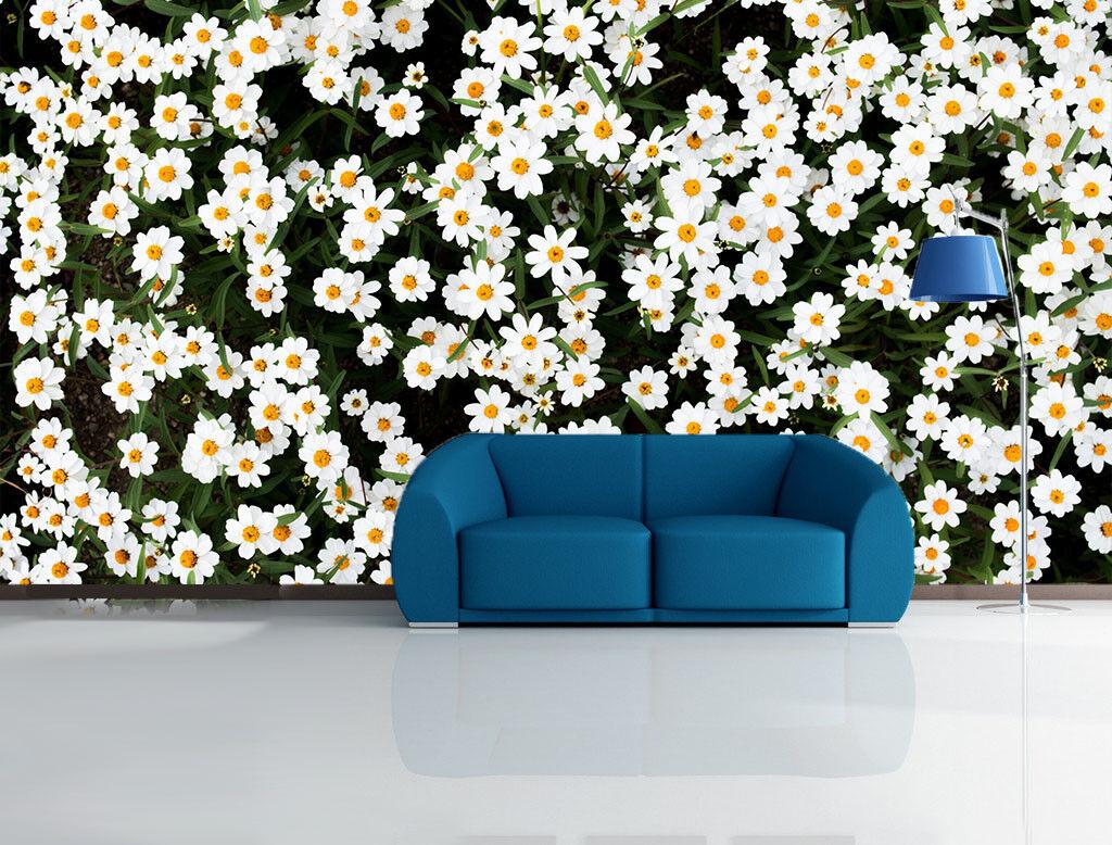 3D Daisy Garden 562 Wall Paper Wall Print Decal Wall Deco Indoor Mural Lemon