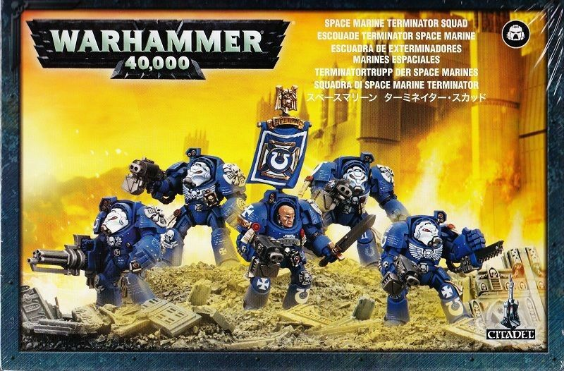 Space Marine Terminatortrupp  Games Workshop Warhammer 40.000 GW 40k 48-10  loisir