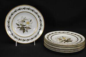 Royal-Worcester-Bernina-Set-of-7-Salad-Plates