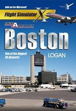 Mega Airport Boston Logan (PC CD) BRAND NEW SEALED