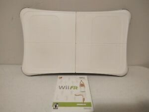 Nintendo Wii Fit Bundle: Wii Balance Board +Wii Fit Game *Tested WORKS*