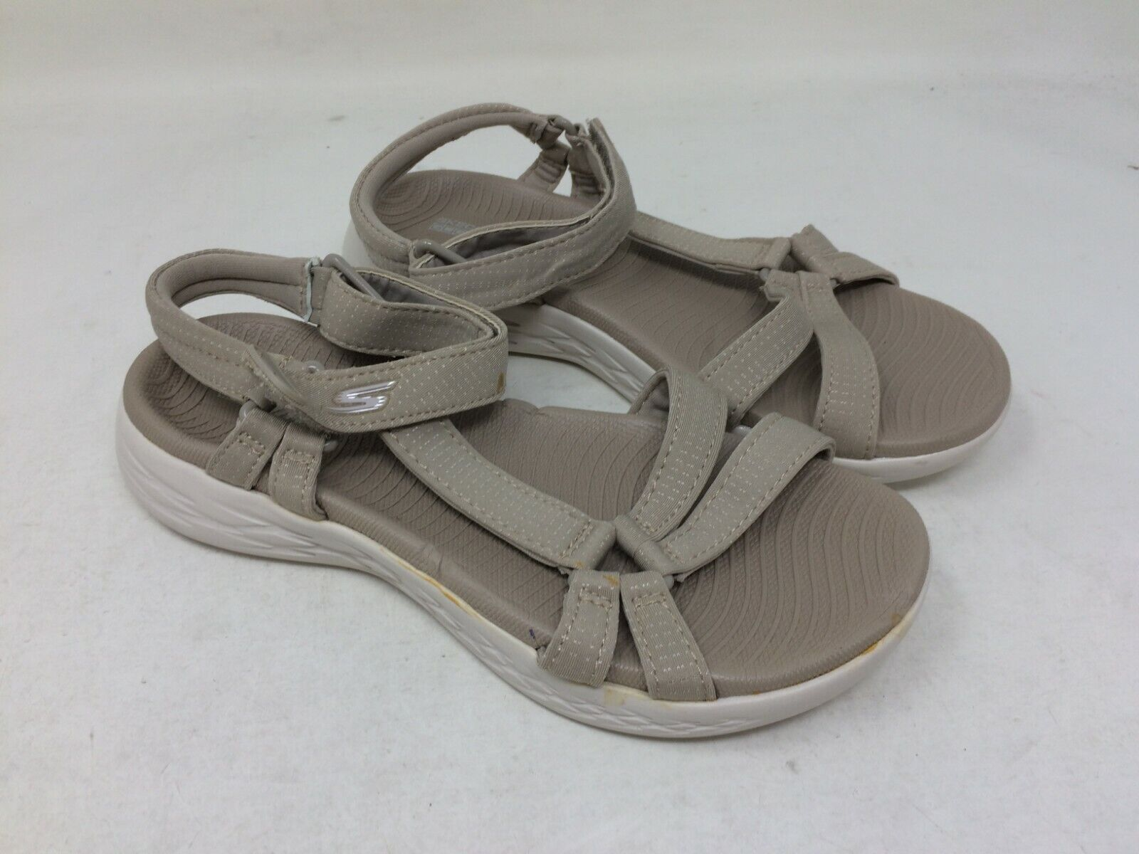 New  Women's Skechers 15316 On the Go 600 Brilliancy Sandal Natural B34