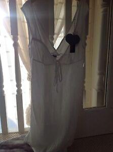 Size Bodus Nightdress Large Short White Nwt rwI0qIAfS
