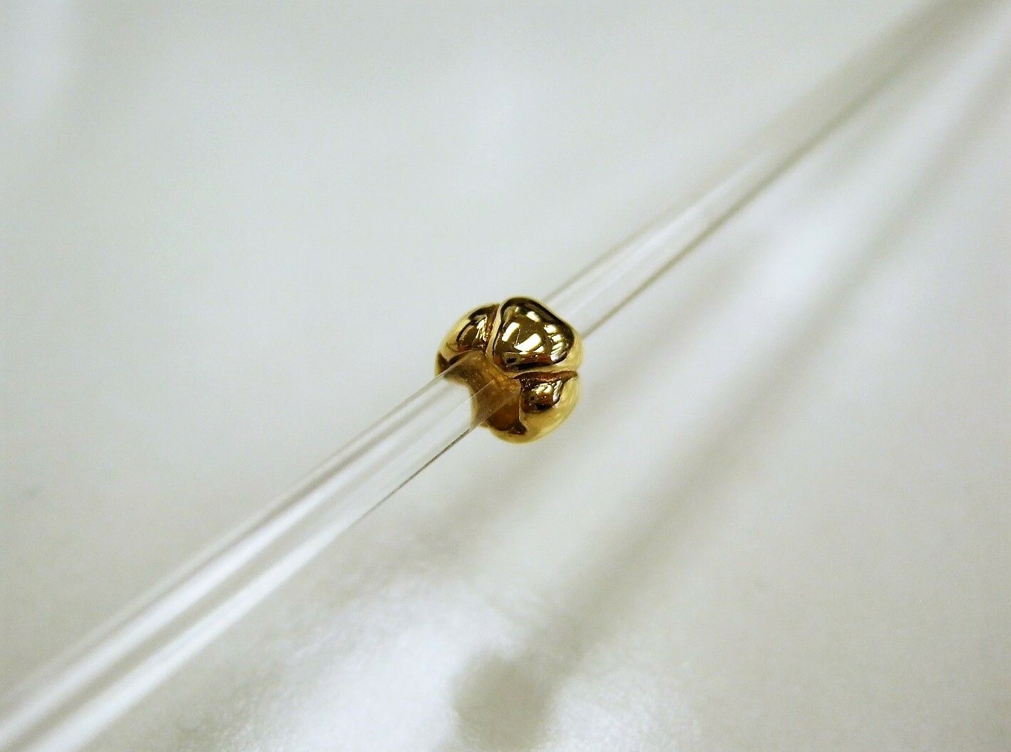 Authentic Trollbeads 18K gold Hearts, small, 21118