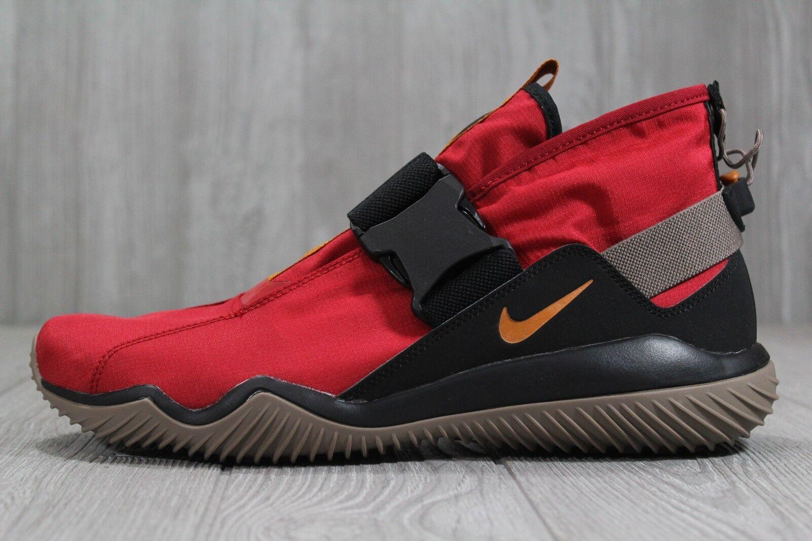 36 New Nike Komyuter ESS Gym Red  Black shoes AQ8131 600 Mens Size 10 12