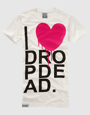Drop Dead - I Heart T-Shirt - Guys Large