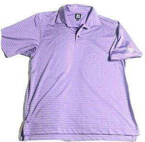 FootJoy-Mens-Polo-Golf-Shirt-Size-Large-L-Bright-Purple-FJ-2012-Ryder-Cup