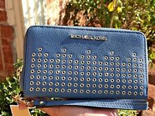 a1534ab3eea9 item 3 MICHAEL KORS HAYES PEBBLE LEATHER PHONE CASE WALLET -MICHAEL KORS  HAYES PEBBLE LEATHER PHONE CASE WALLET