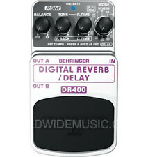 BEHRINGER DIGITAL REVERB / DELAY DR400 Guitar Pedal