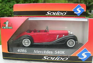 SOLIDO-1-43-METAL-MERCEDES-BENZ-540-K-4086