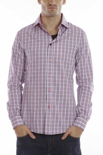 Camicia Aj Cotone Uomo Armani Rosa Jeans D5 Shirt R6c38 rHwrOTqB