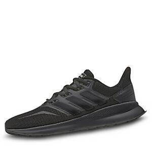 Details zu adidas RunFalcon Herren Sportschuh Streetrunning Laufschuhe Mesh Schuhe schwarz