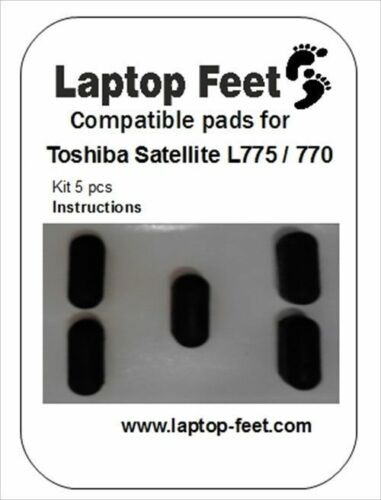 5p adh by3M Laptop feet for Toshiba Satellite L775 L770 compatimble kit