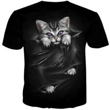 aa5df4eee Fashion Men Funny Skull 3D Print T-Shirt Casual Crew Neck Short Sleeve Tops  Tee