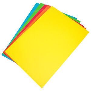 50 colore misto A3 160gsm Scheda Craft fogli ARTISTI Vuoto Cardmaking DECOUPAGE