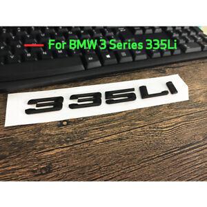 "Gloss Black /"" 335 i /"" Number Trunk Letters Emblem Badge Sticker for BMW 3 Series"