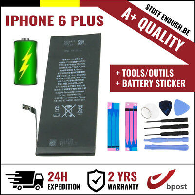 A+ Replacement Vervang Battery/batterij/batterie+tools+sticker For Iphone 6 Plus Comfortabel En Gemakkelijk Te Dragen