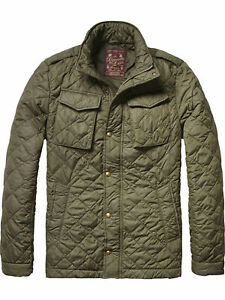 Scotch-amp-Soda-Herren-Steppjacke-14040710035-Gr-L-Oliv-Gruen-military-NP-149