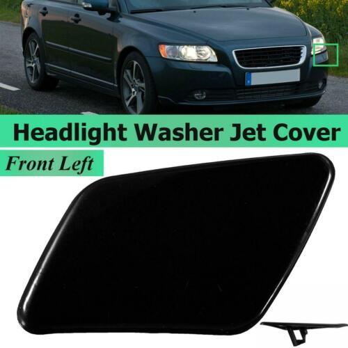 Front Left Side Bumper Headlight Washer Cover Cap For VOLVO S40 V50 2005-2007