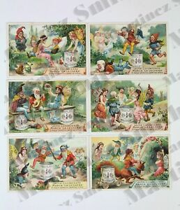 Details about Antique Condensed Milk Milkmaid Brand Fairies and Dwarfs  Trading Cards