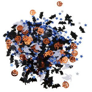 Bag-of-30g-Assorted-Halloween-Pumpkin-Witch-Star-Table-Confetti-DIY-Decor
