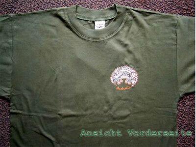 fällt wie Seide Gr 40 42  T Shirt Bluse Aborigines AUSTRALIEN Schlange