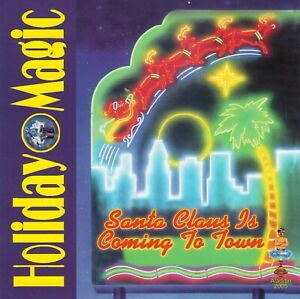 Holiday-Magic-by-VA-CD-Aladdin-2005-Import-Twiggy-3-Stooges-Like-NEW-OOP