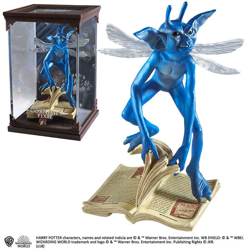 Harry Potter Magical Creatures N. 15 Cornish Pixie Statue NOBLE COLLECTIONS