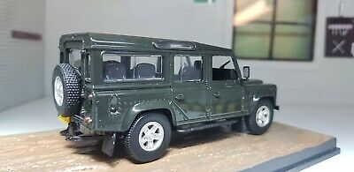 Land Rover Defender 110 Station LWB TDi TD5 1:43 Scale Dark Grey James Bond