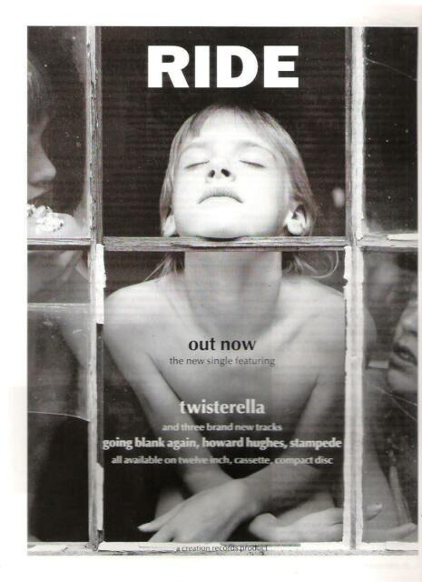 RIDE twisterella glossy UK magazine ADVERT / mini Poster 11x8""