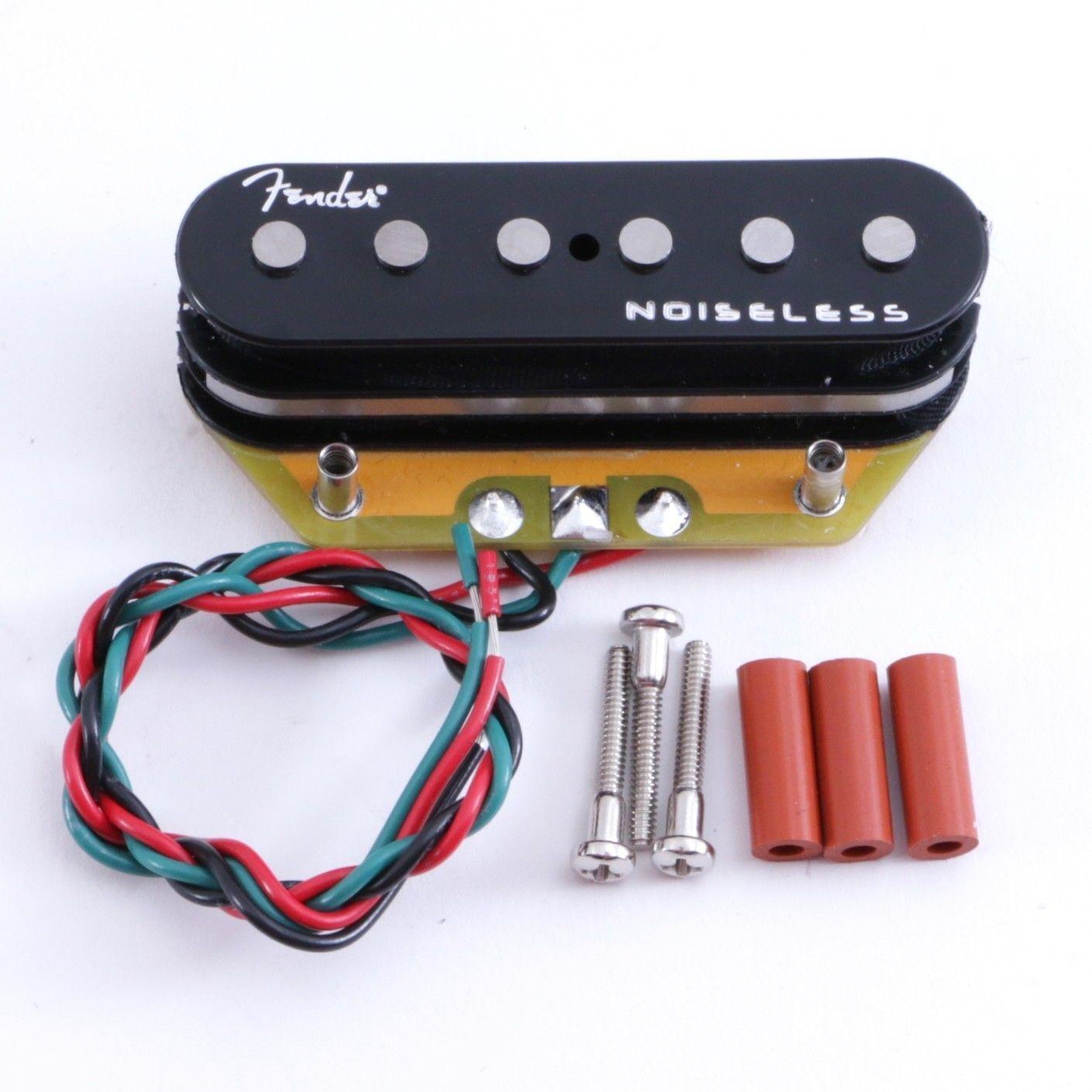 Original Fender gen 4 Geräuschlos Telecaster Tele Steg-Pickup