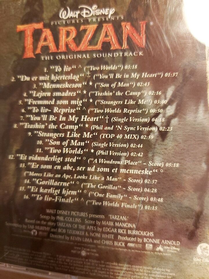 Disney Tarzan: Disney Tarzan, andet
