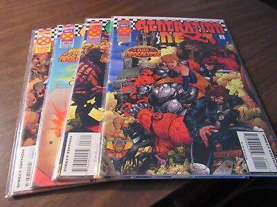Factor-X #1 2 3 4 Age of Apocalypse X-Men Mini Series Comic Book Set 1-4