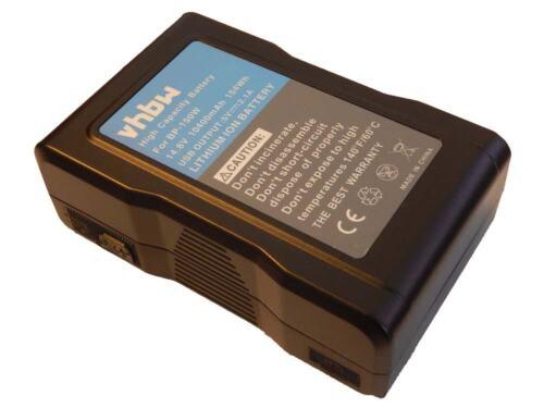 Videocámara acu batería 10400mah para Sony dsr-600p dsr-652p dsr-650p