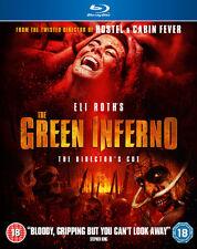 The Green Inferno Blu-ray 2015 DVD Region 2