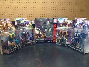 Transformers Power of the Primes Abominus Lot Hun-Gurr Cutthroat Blot Sinnertwin
