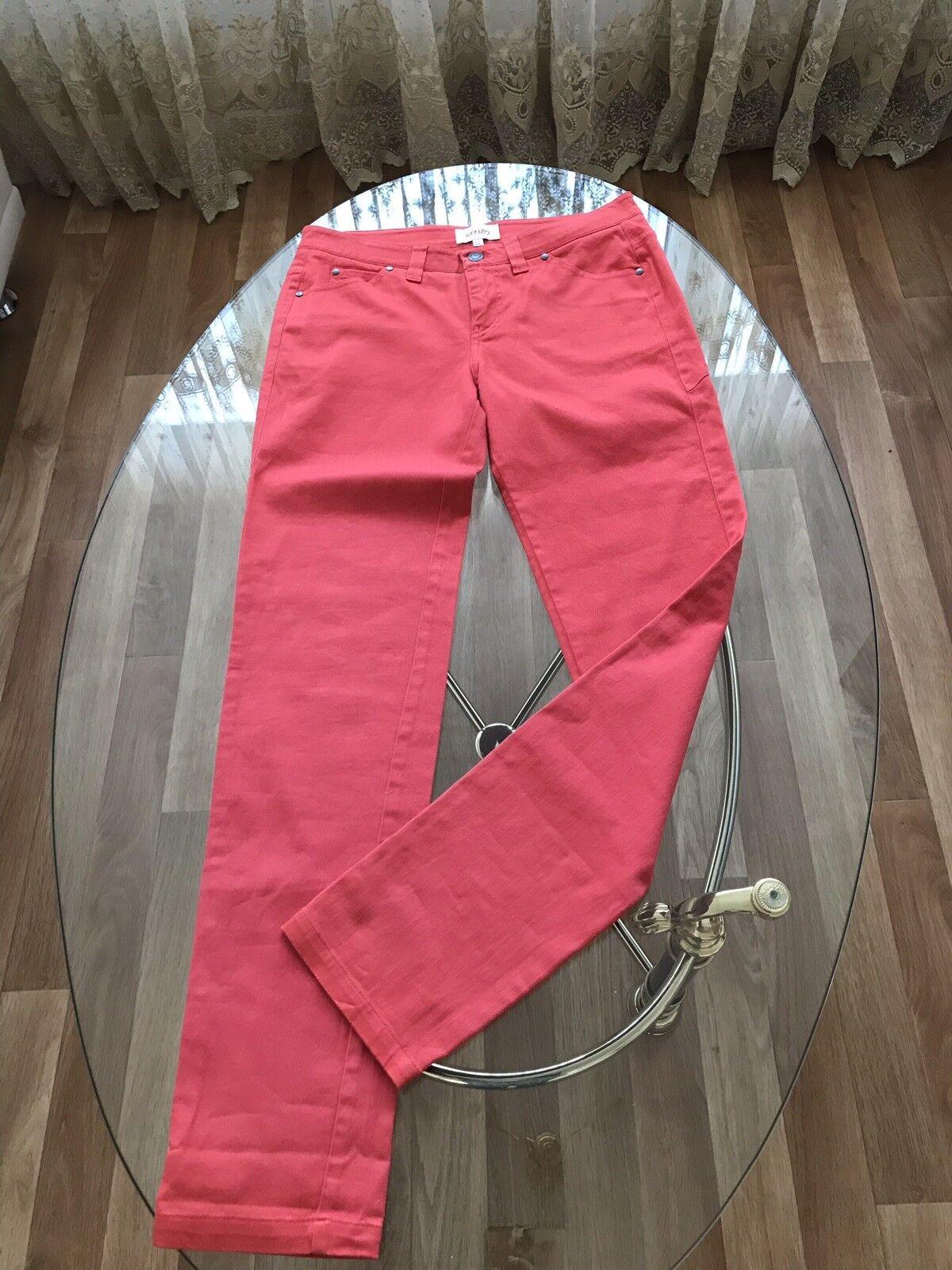 Lujo KENZO ☄️ damas Jeans Denim  coral gr. 27 S M 38 nuevo  bienvenido a orden