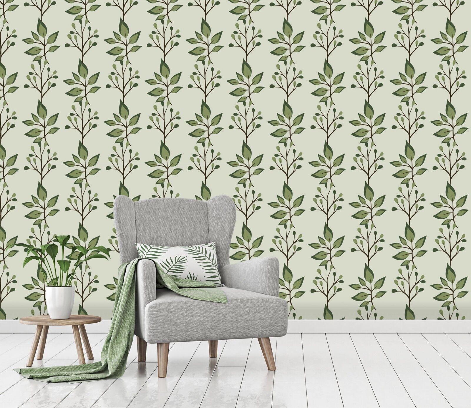 3D Grüne Blätter Rebe 0 Tapete Wandgemälde Tapete Tapeten Familie Kinde DE Lemon