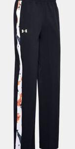 Women's UA RECOVER Woven Upstream Camo Wide Leg Pants Sz Small MSRP $80