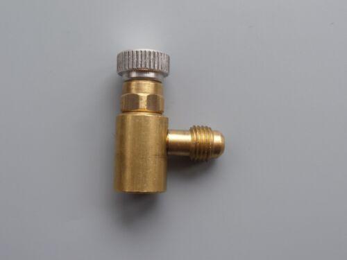 Réfrigérant Robinets À Soupape Connecteur SAE 5//16 F x 1//4 m pour la propriété Bouteille