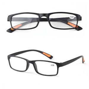 df2b8733a24 New Unisex Men Lady Reading Glasses Frames+1.0~+4.0Near Lenses Black ...