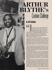 Arthur Blythe Downbeat Clipping TRANSPARENT